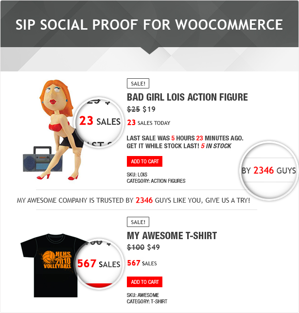 SIP Social Proof for WooCommerce 1